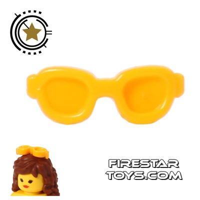 LEGO Hair Accessory - Sunglasses - Orange