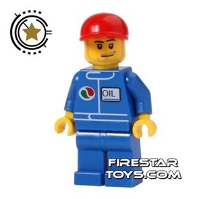 LEGO City Mini Figure - Octan Oil Technician