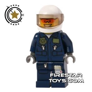 LEGO City Mini Figure - Forest Police Helicopter Pilot 1