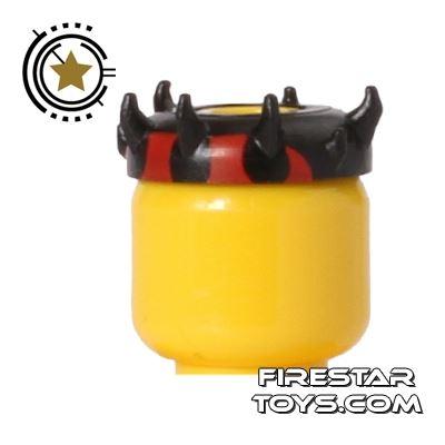 LEGO - Zabrak Horns - Black and Red