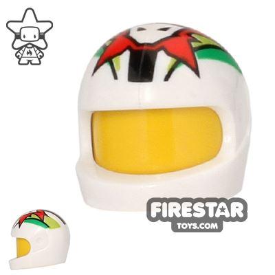 LEGO - Printed Biker Helmet - Team Extreme