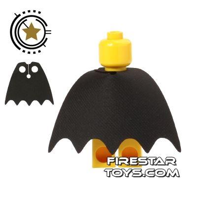Custom Design Cape - Batman - Black