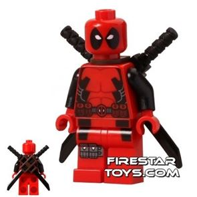 LEGO Super Heroes Mini Figure - Deadpool
