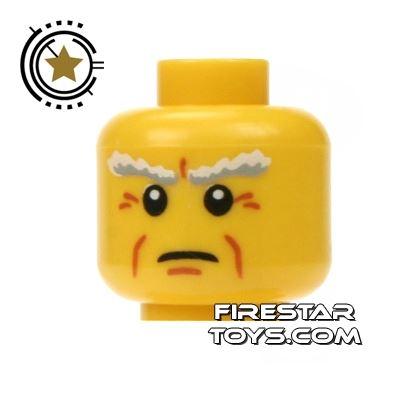 LEGO Mini Figure Heads - Wrinkles