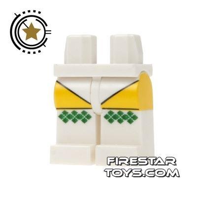 LEGO Mini Figure Legs - Tartan Socks