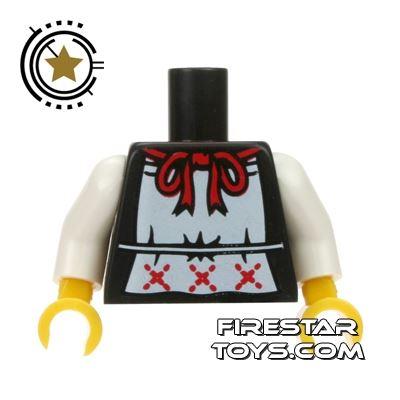 LEGO Mini Figure Torso - Apron with Ribbon