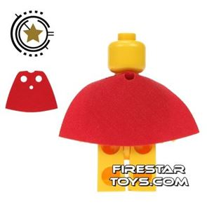 LEGO Cape - Short - Red