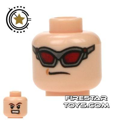 LEGO Mini Figure Heads - Avengers Hawkeye