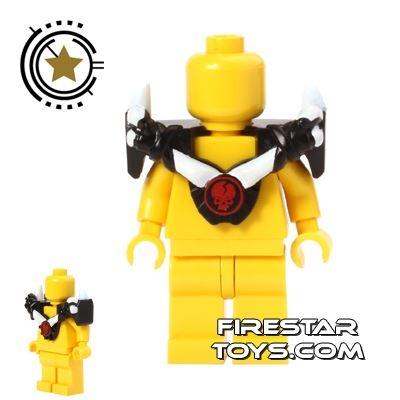 LEGO - Ninjago Armour - White Spikes