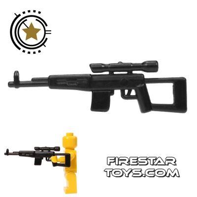 CombatBrick - SVD - Dragunov Sniper Rifle - Black