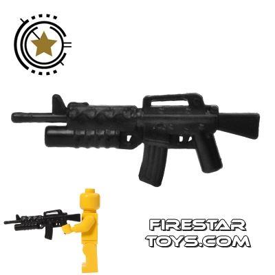 CombatBrick - M16A2 with M203 Grenade Launcher - Black