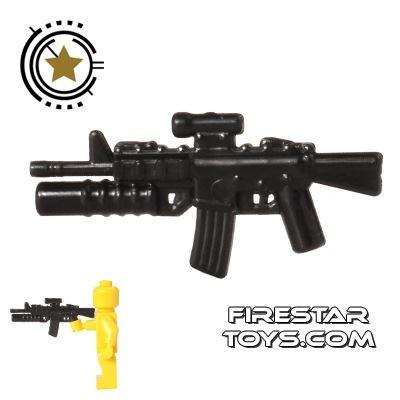CombatBrick - M4A1 Carbine with M203 Grenade Launcher - Black