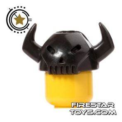 BrickTW - Mongol King Helmet - Black