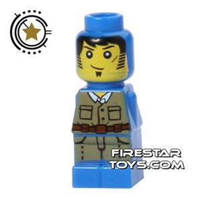 LEGO Games Microfig - Ramses Return Adventurer - Blue