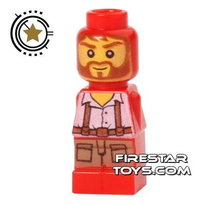 LEGO Games Microfig - Ramses Return Adventurer - Red