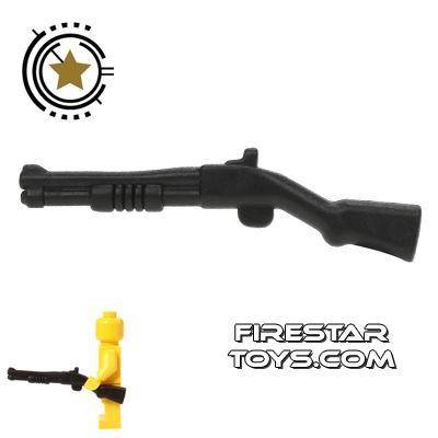 BrickForge - Pump-Action Shotgun - Black