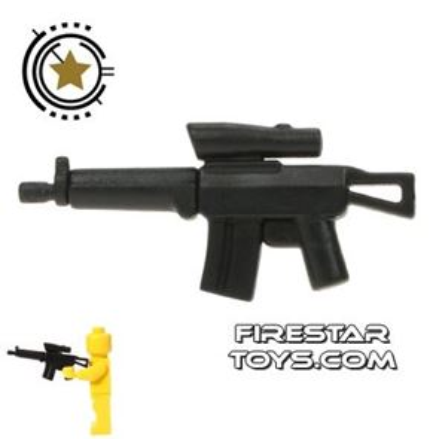 BrickForge - Tactical Assault Rifle - Black