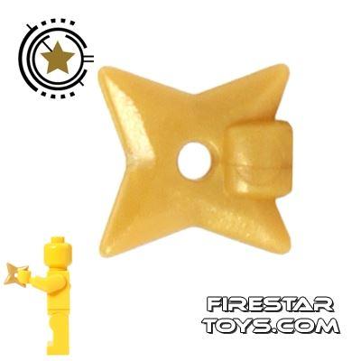 BrickForge - Throwing Star - Gold