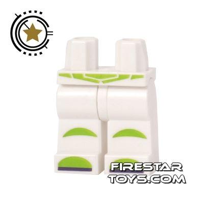 LEGO Mini Figure Legs - Buzz Lightyear Spacesuit