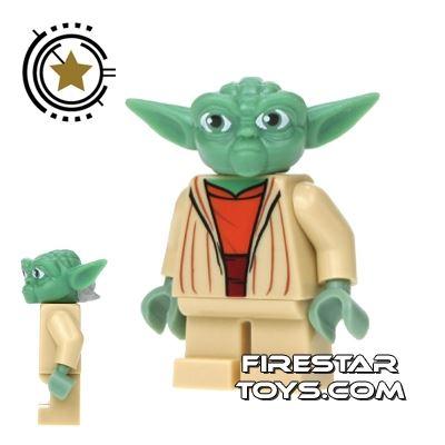 LEGO Star Wars Mini Figure - Clone Wars Yoda Jedi Master