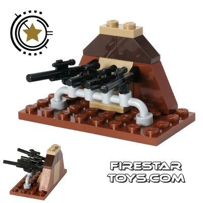 Custom Mini Set - Star Wars Blaster Gun Stand