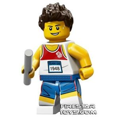 LEGO Team GB Olympic Minifigures - Relay Runner