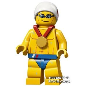 LEGO Team GB Olympic Minifigures - The Stealth Swimmer