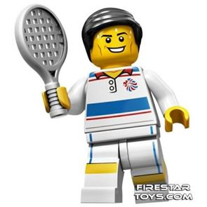 LEGO Team GB Olympic Minifigures - Tactical Tennis Player