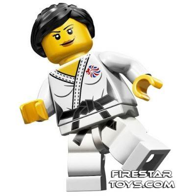 LEGO Team GB Olympic Minifigures - Judo Fighter