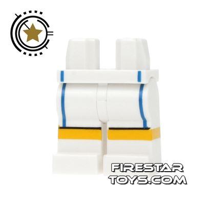 LEGO Mini Figure Legs - Team GB Tennis Shorts