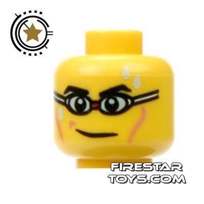 LEGO Mini Figure Heads - Swimming Goggles