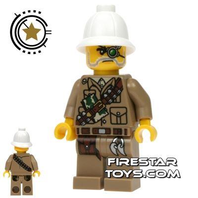 LEGO Monster Fighters Mini Figure - Major Quinton Steele