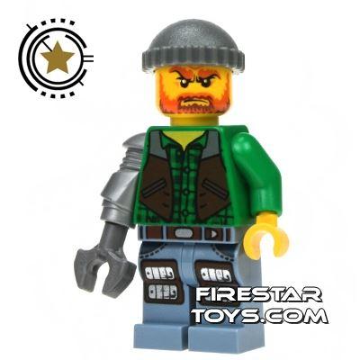 LEGO Monster Fighters Mini Figure - Jack McHammer
