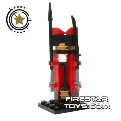 Custom Mini Set - Ninjago Weapons Stand