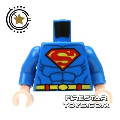 LEGO Mini Figure Torso - Superman