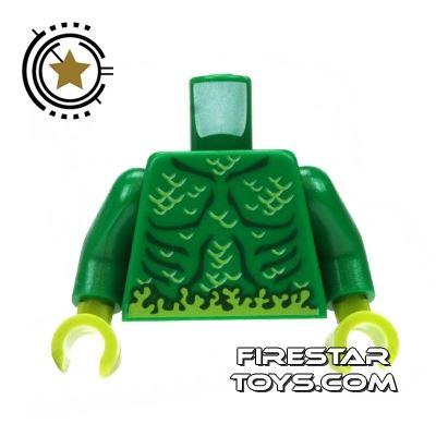 LEGO Mini Figure Torso - Swamp Creature