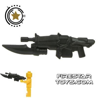 BrickWarriors - Impaler Assault Rifle - Charcoal