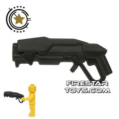 BrickWarriors - Grinder Shotgun - Black