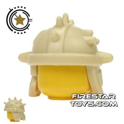 BrickWarriors - Goblin Helmet - Tan