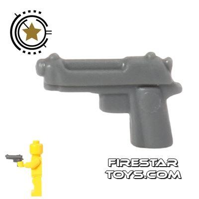 BrickForge - Tactical Sidearm - Dark Blueish Gray