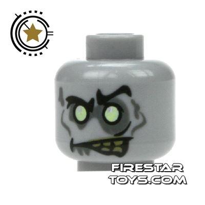 LEGO Mini Figure Heads - Zombie Groom