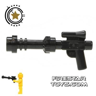 LEGO Gun - Extended Blaster Gun - Black