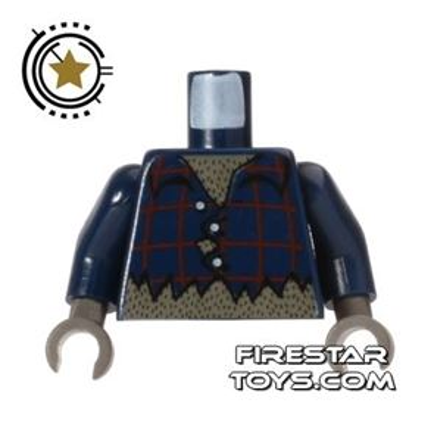 LEGO Mini Figure Torso - Ripped Shirt - Werewolf