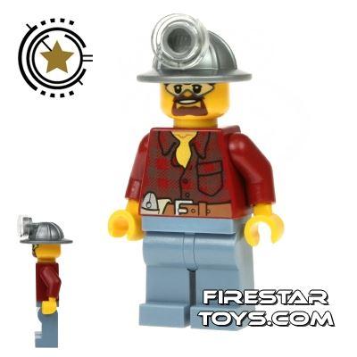 LEGO City Mini Figure - Miner