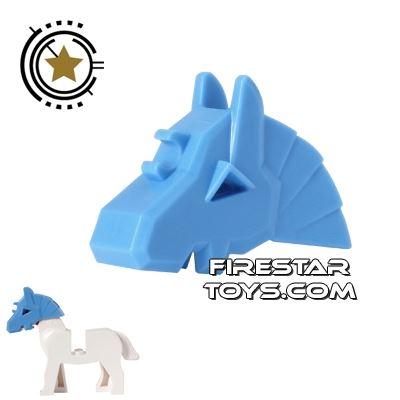 LEGO - Horse Battle Helmet - Medium Blue
