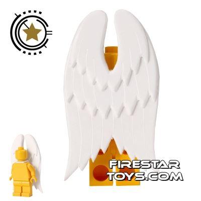Custom Design - Supernatural Dark Angel Wings - White