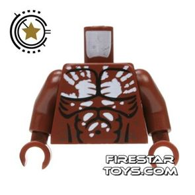 LEGO Mini Figure Torso - Lord of the Rings - Berserker