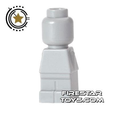 LEGO Games Microfig - Plain - Light Blueish Gray