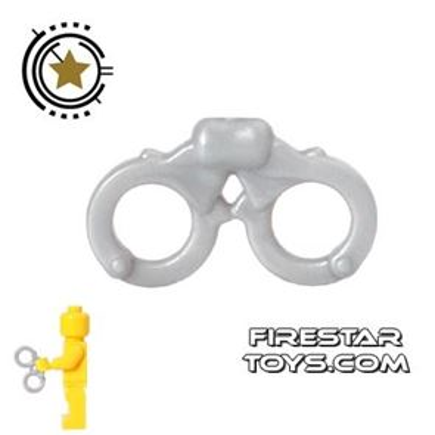 BrickForge - Handcuffs - Silver