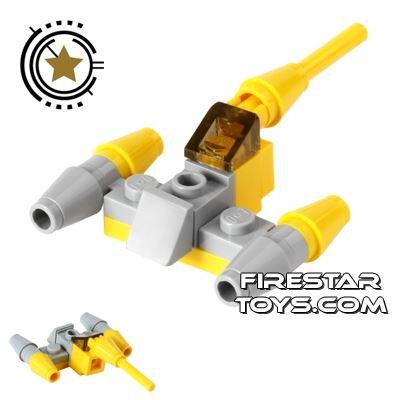Custom Mini Set - Star Wars Naboo Starfighter